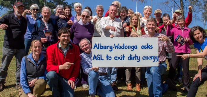 WATCH call for action from AGL